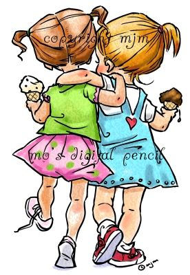summer sisters s cute illustration children illustration sister clipart summer sisters s cute illustration