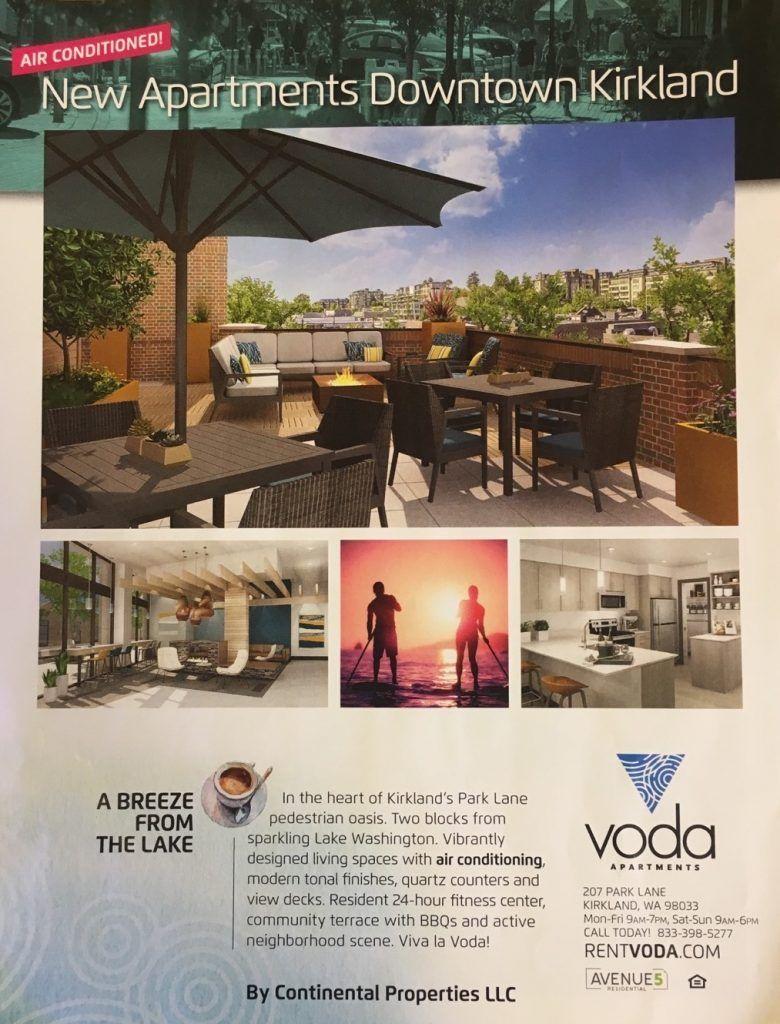 Apartment Advertising In Flight Magazine