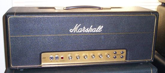 vintage 1968 marshall 100 watt super lead amp head music guitar amp amp. Black Bedroom Furniture Sets. Home Design Ideas