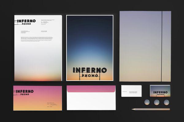 Inferno Identity on Behance
