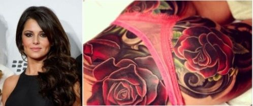 9f1929a4b Cheryl Cole's Mother Unimpressed With Her New Bum Tattoo | Cheryl ...