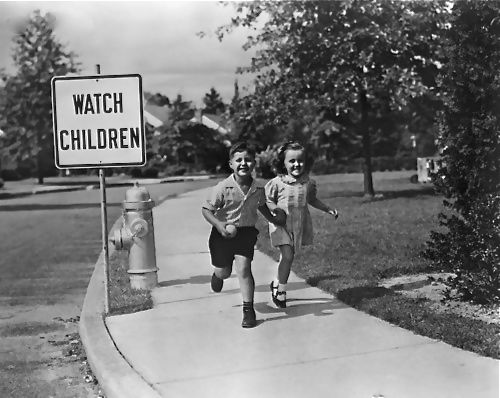 Image result for 1950's kids playing