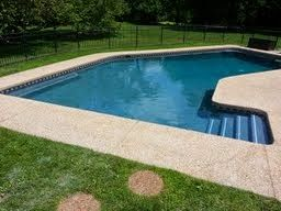 Diamond Brite Water Colors Ocean Blue Pool Landscaping Pool