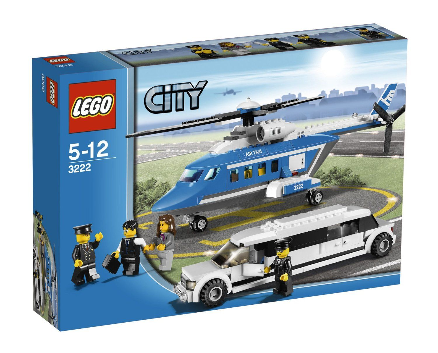 Amazon Lego City Set 3222 Helicopter Limousine Toys Games