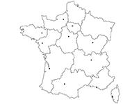 carte de france région vierge Épinglé par Tala Louve sur Éducation | Carte vierge