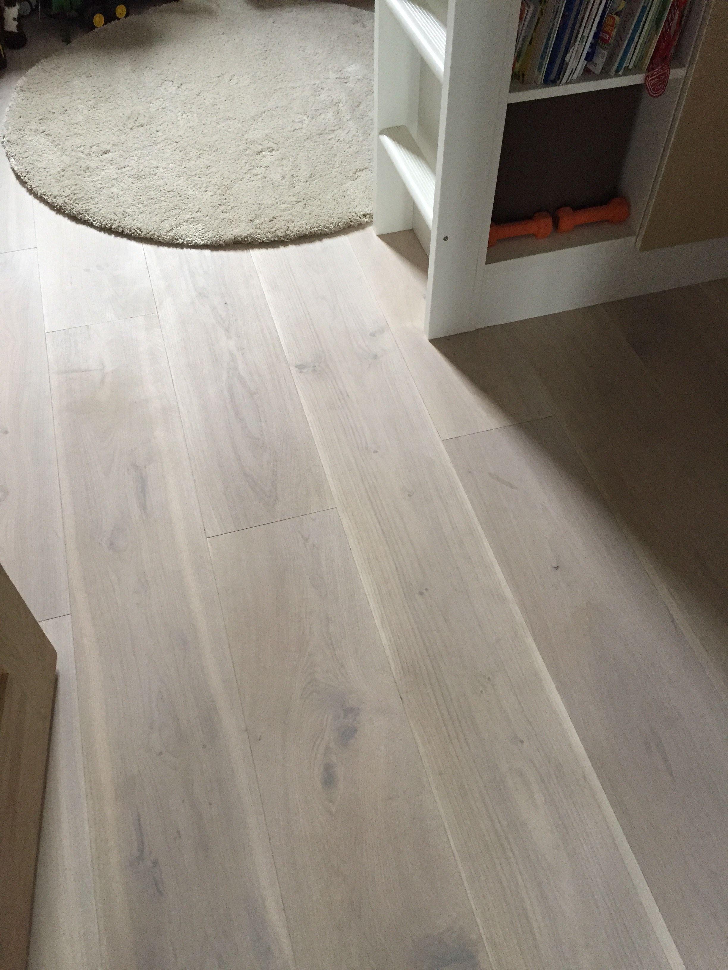 Polar White White Oiled Sanded Wide Plank Engineered Oak