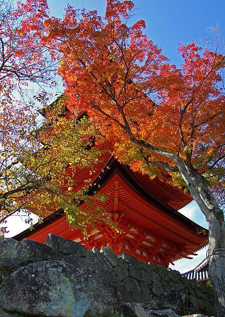 Miyajima Five-Storied Pagoda[Worldheritage] by h orihashi, via Flickr