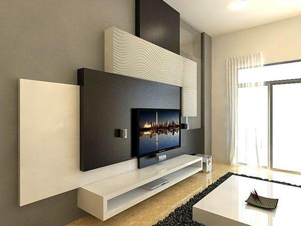 40 Unique Tv Wall Unit Setup Ideas Bored Art Wall Unit Designs Tv Feature Wall Tv Wall Design