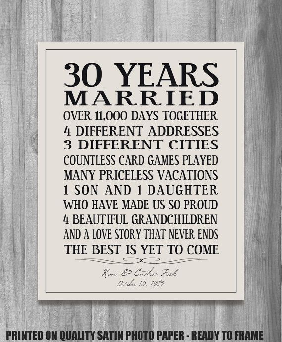 love story typography - Google Search | A Gifts | Personalized anniversary gifts, Anniversary gifts, 30th wedding anniversary