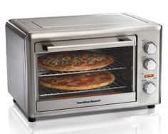 School Cafeteria Pourable Pizza Crust Recipe Countertop Oven