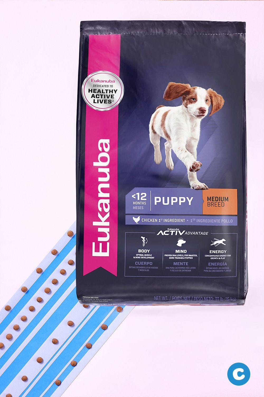 Eukanuba Puppy Medium Breed Chicken Formula Dry Dog Food 33 Lb Bag Chewy Com Dry Dog Food Animal Protein Dog Food Recipes