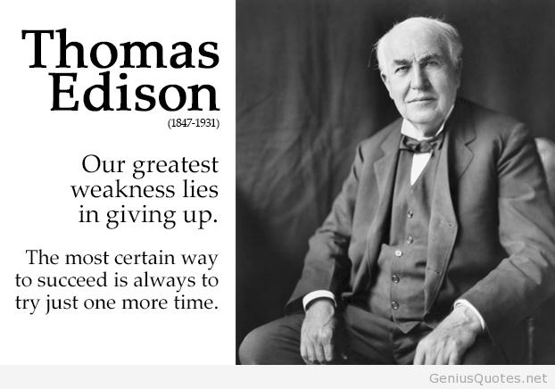 Thomas Alva Edison Quotes 1