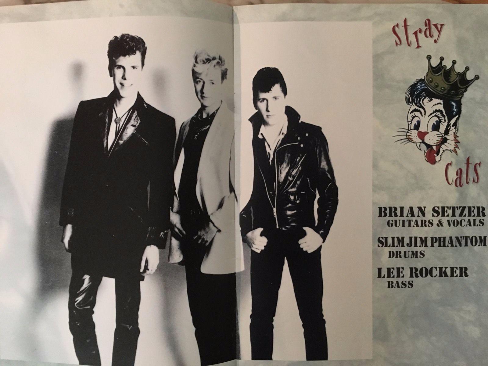 ♫'''Stray Cats 1992 Concert Tour Program, Setzer, Japanese, Rockabilly, Retro...☺...'''♫ http://www.ebay.com/itm/Stray-Cats-1992-Concert-Tour-Program-Setzer-Japanese-Rockabilly-Retro-/252155522274?hash=item3ab5a3ece2:g:jh4AAOSw5VFWOP6j