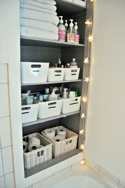Den E Feen Såpetips Linen Closet Organization Bathroom Organized Organize