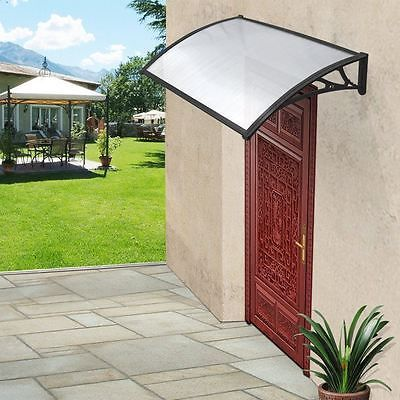 Door Window Canopy Awning Porch Sun Front Back Shade Shelter Patio Rain Cover UK