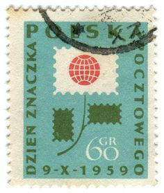vintage polish postage stamps - Google Search