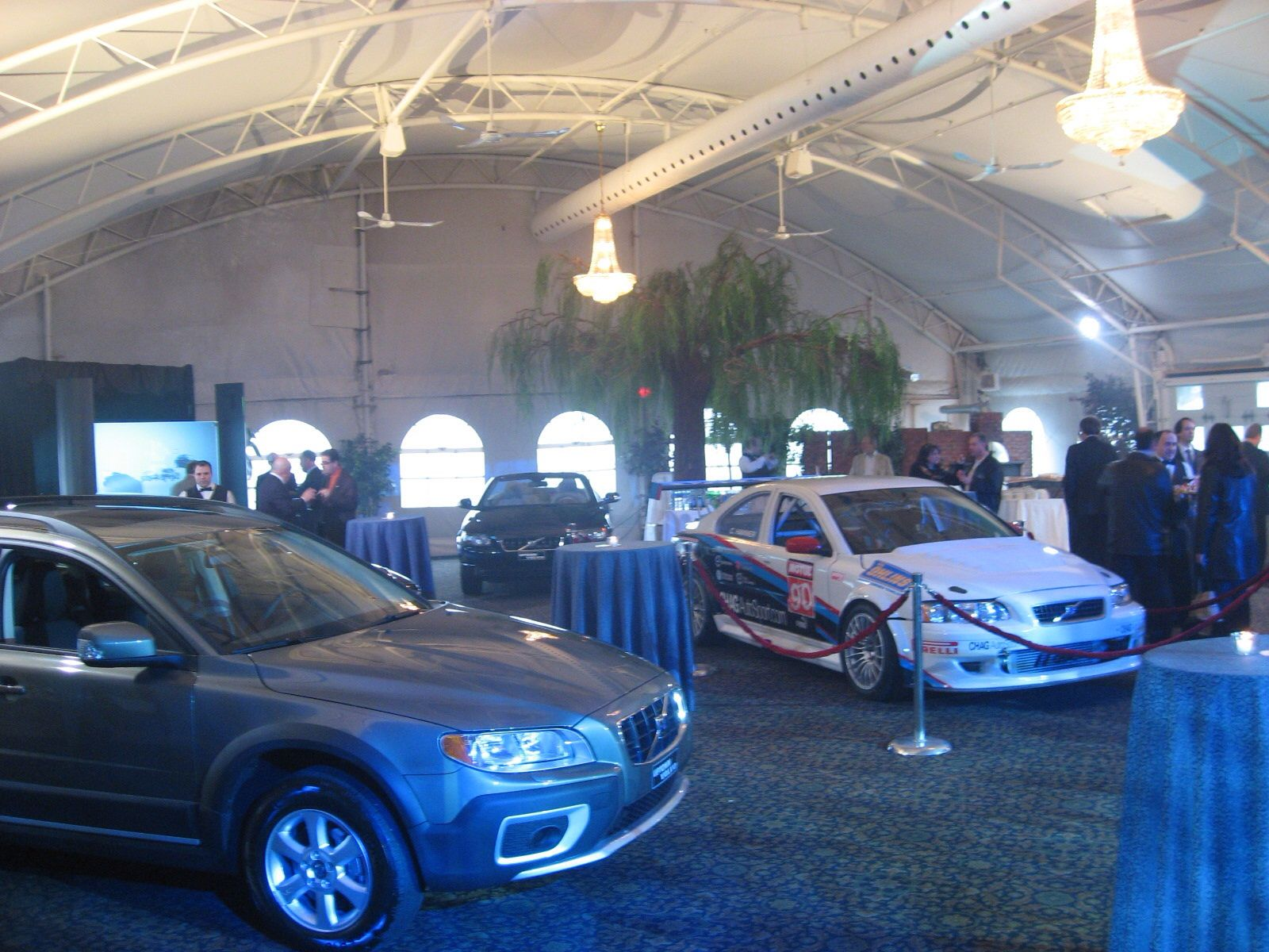 A great place to host your corporate event...even a mini car show!