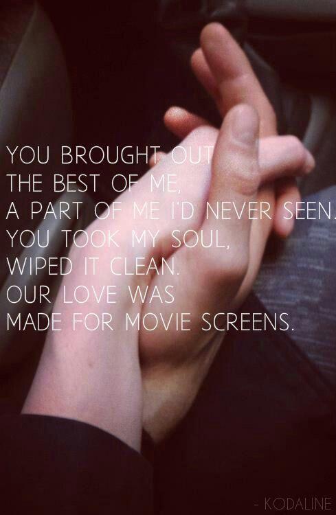 All I Want Kodaline Hands Romance Holding Hands