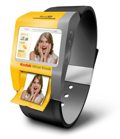 Kodak launches Kodak Wrist Kiosk  #tech #gadget