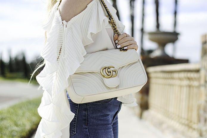 39e29566e white-gucci-gg-marmont-matelasse-shoulder-bag | Steph of Spades in ...