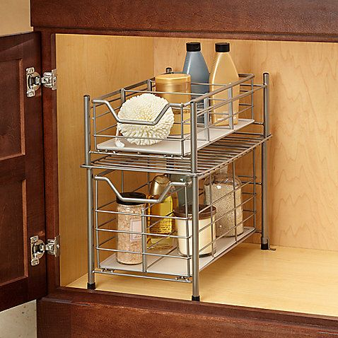 Under The Sink Storage Bed Bath And Beyond This Would Be Awesome
