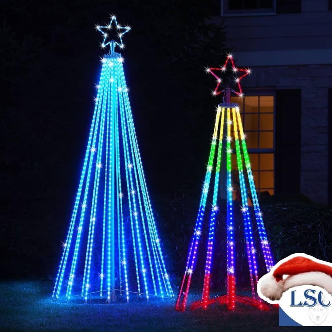 Manguera Led Lsc Nuestras Opciones Manguera Led Redonda Plana Doble Triple Y Simple In 2020 Christmas Light Show Christmas Light Displays Outdoor Christmas Tree