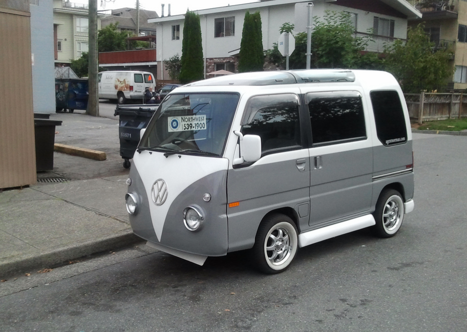 Cohort Sighting: VW Bus Mini Me