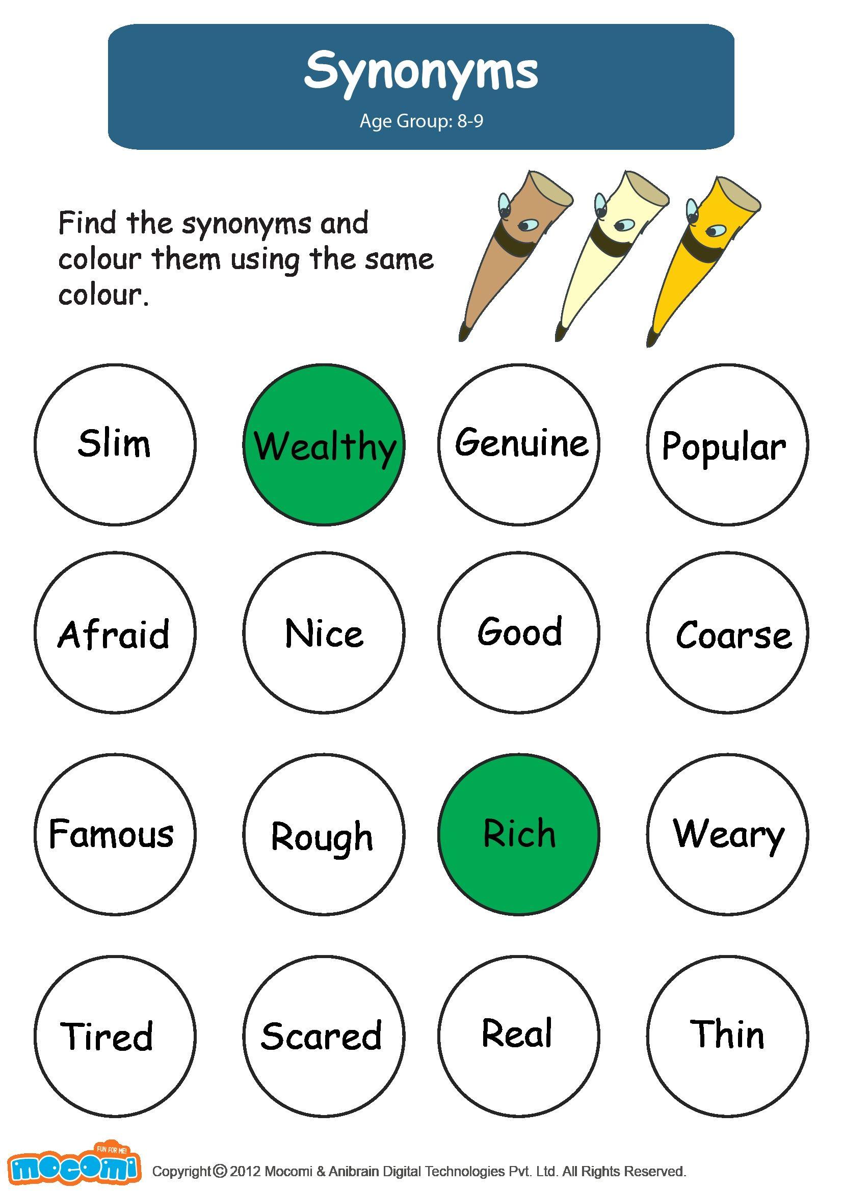 Image Result For English Worksheets For Kids
