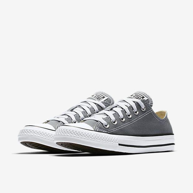 9b8d0ace2cd Converse Chuck Taylor All Star Seasonal Low Top Shoe Size 9.5 (Grey ...
