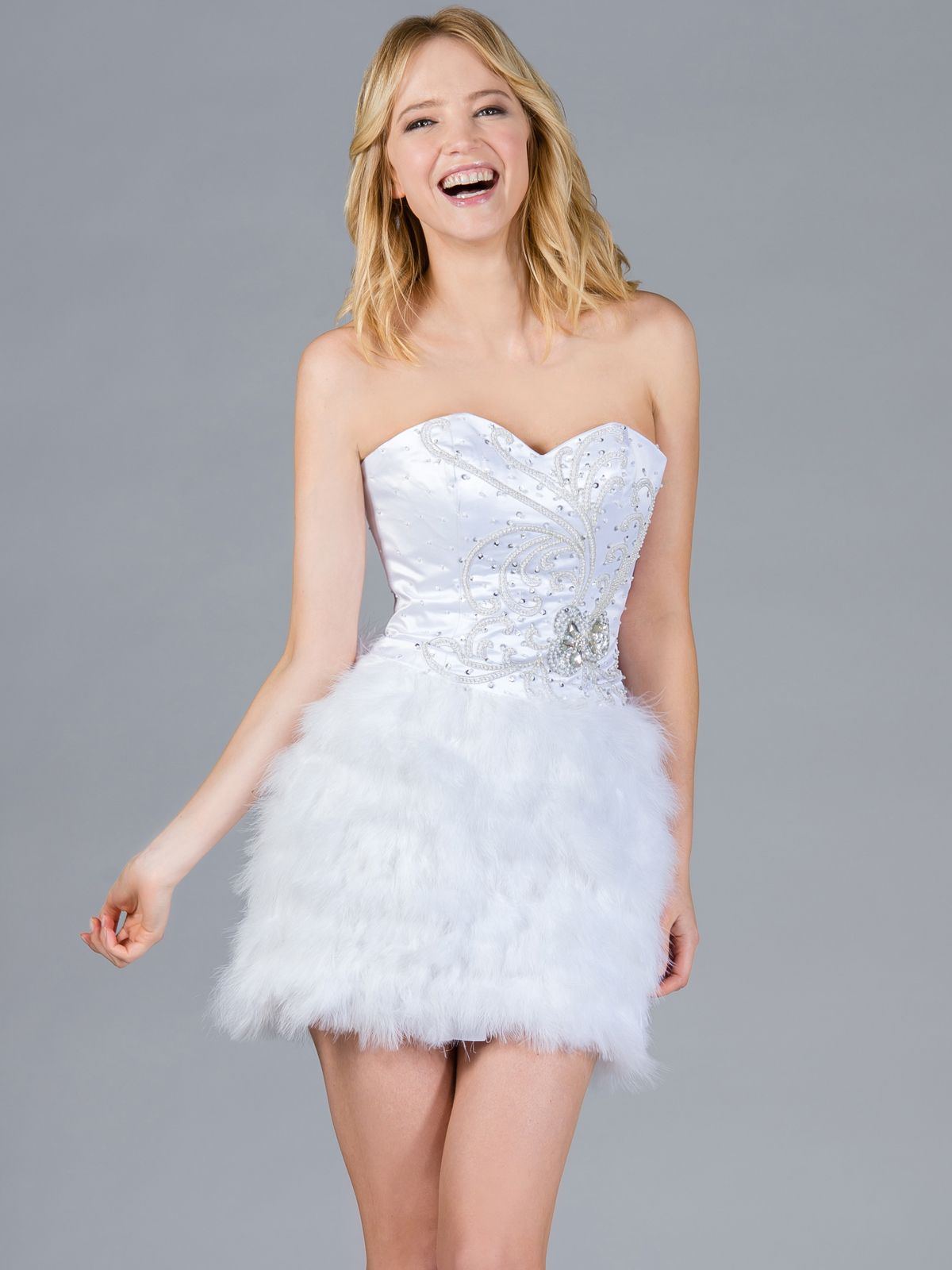 10 Best images about White Cocktail Dress on Pinterest - Confusion ...