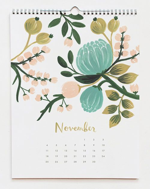 new: rifle paper co. calendars   notepads / Design*Sponge on imgfave