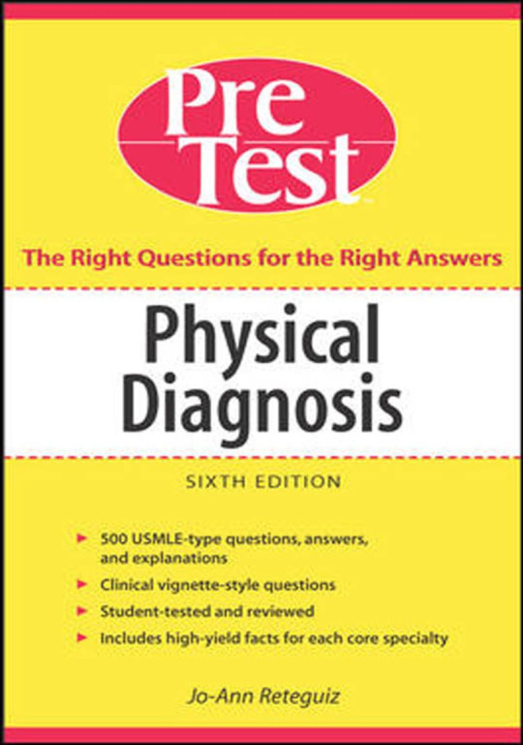 Physical Diagnosis PreTest Self Assessment and Review