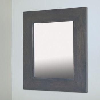 14x18 Gray Mirrored Medicine Cabinet Recessed Medicine Cabinet