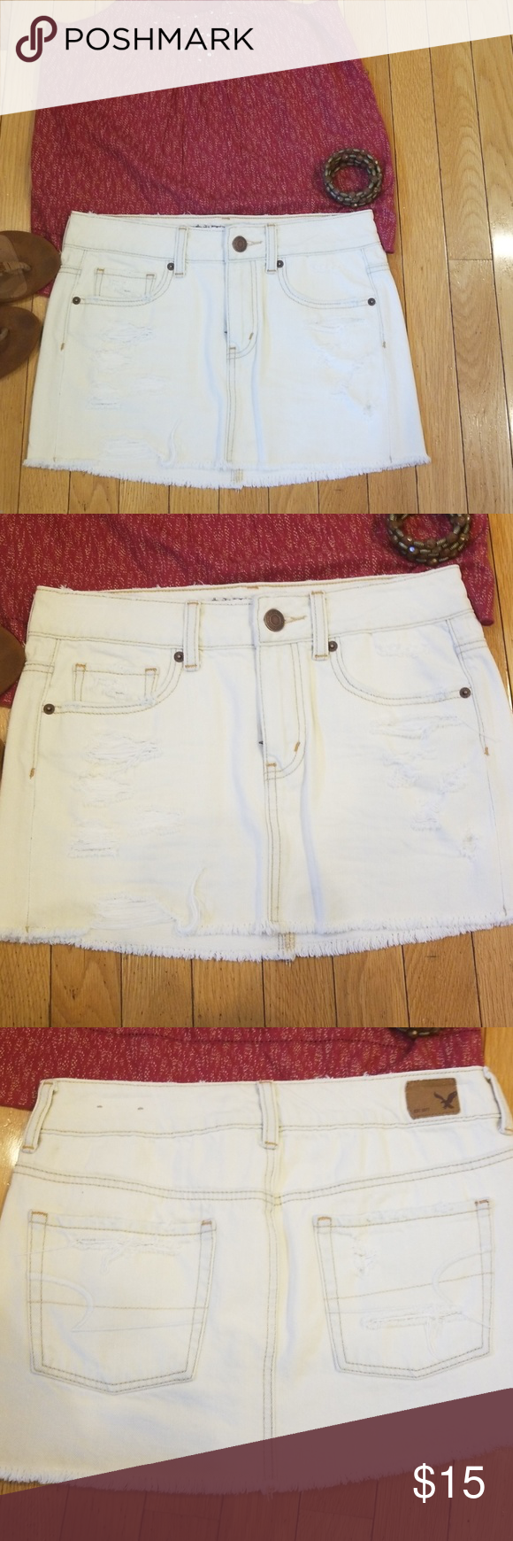 c1b8b6626ec890 Button Up Jean Skirt American Eagle – DACC