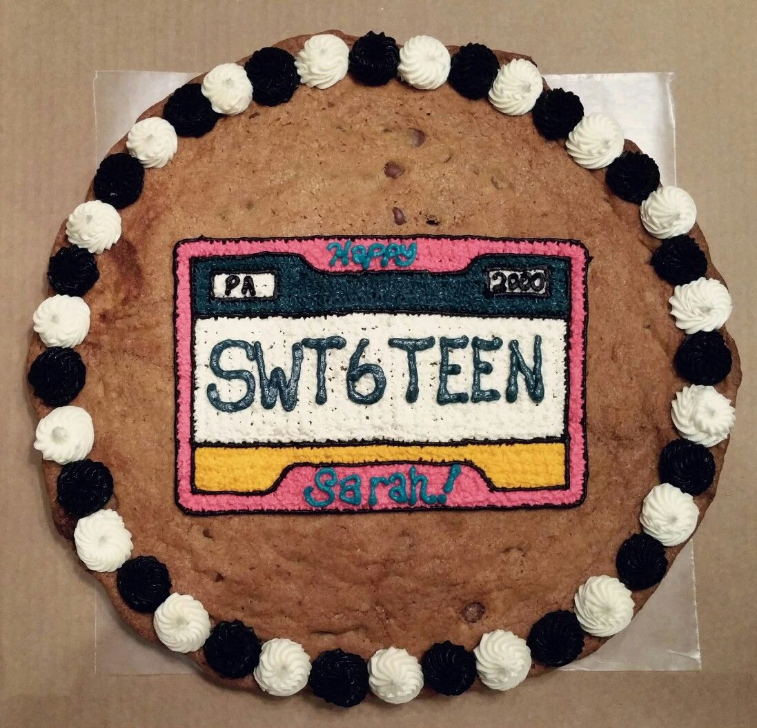 License Plate Cake