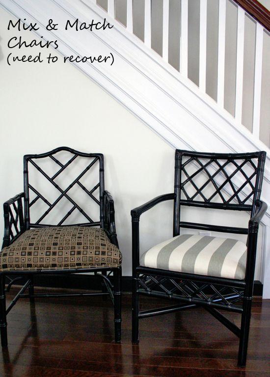 Design Manifest Black Bamboo Rattan Chairs Bamboo Furniture
