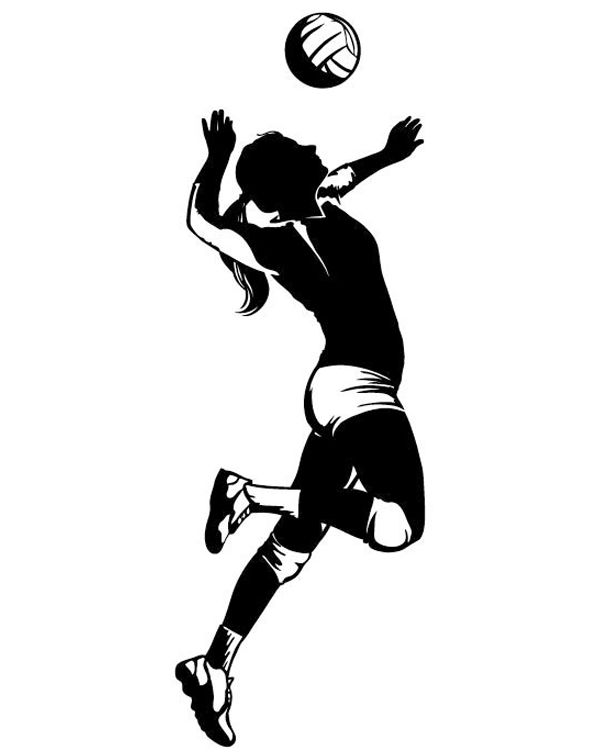 Resultado de imagen para player volleyball | Dibujo | Pinterest ...