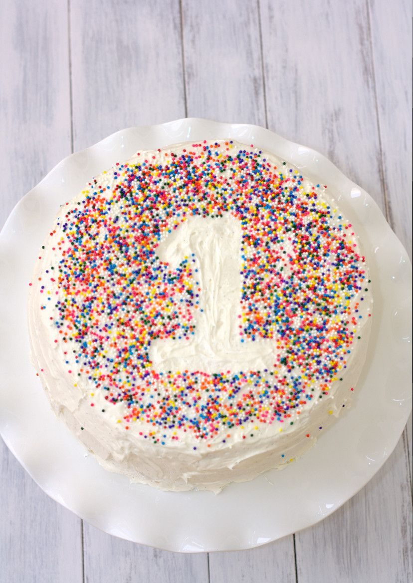 Finally Something Easy First Birthday Cake And I Think I Have That