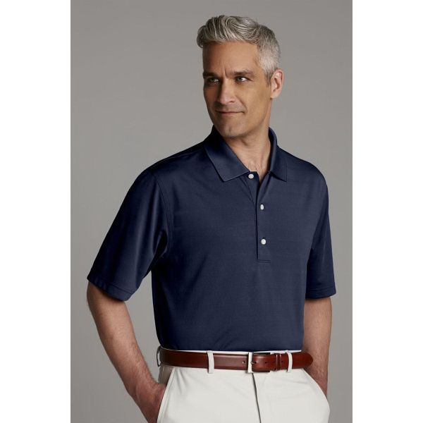 Greg Norman Play Dry Textured Polo #gregnorman #apparel #onetouchpoint #promo