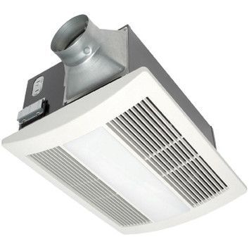 WhisperWarm 110 CFM Bathroom Fan/Heat/Light Combination ...