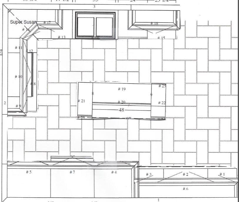 12x24 floor tile patterns for kitchen | kitchen | pinterest