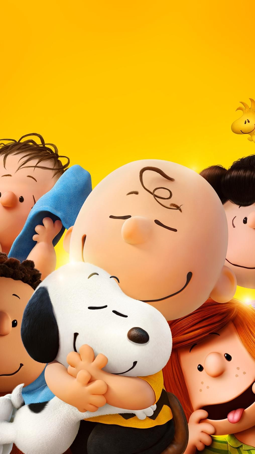 The Peanuts Movie (2015) Phone Wallpaper Snoopy