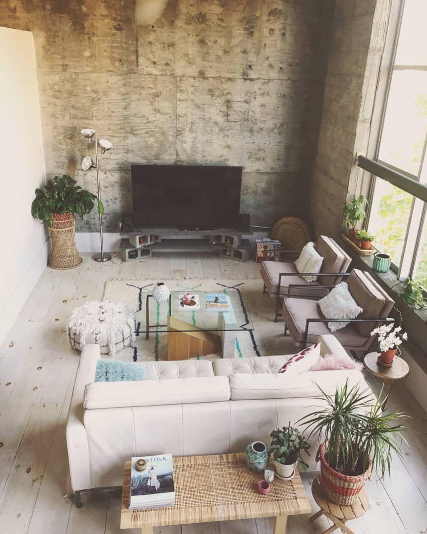 A Condo Found On Craigslist Is A Uniquely Magical Bright Dream Rental Home Living Room Condo Living Living Room Furniture