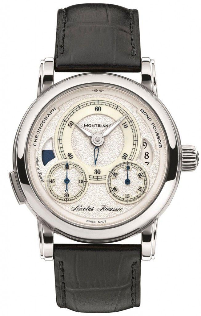 e5e231a186b Introducing The Montblanc Nicolas Rieussec II Watch