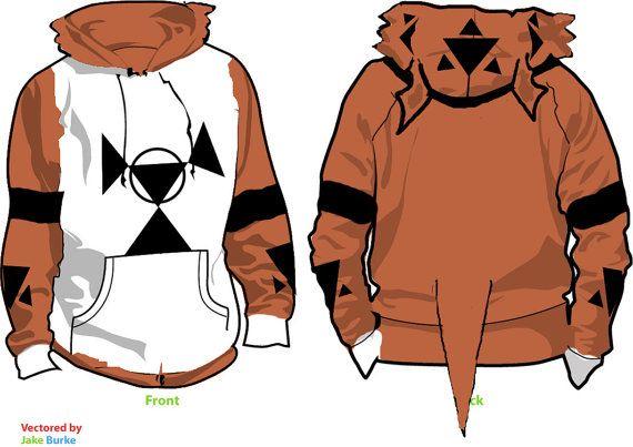 3deea2fa0 Guilmon Digimon Fleece Cosplay Hoodie by WeeabooWarehouse on Etsy ...
