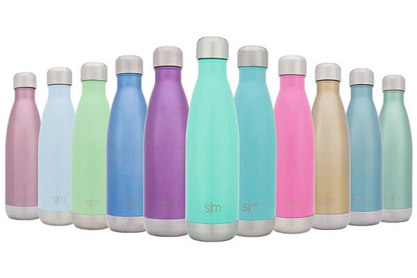 Simple Modern Wave Water Bottle - Vacuum Insulated Double-Walled 18