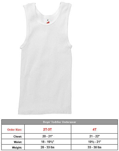1ad80826980de Tops Shirts and T-Shirts 175521  Hanes Toddler Boys Cotton Sleeveless Tank  Top