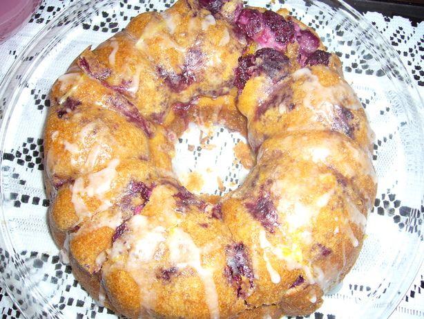 Blackberry Cream Cheese Coffee Cake from Food.com.