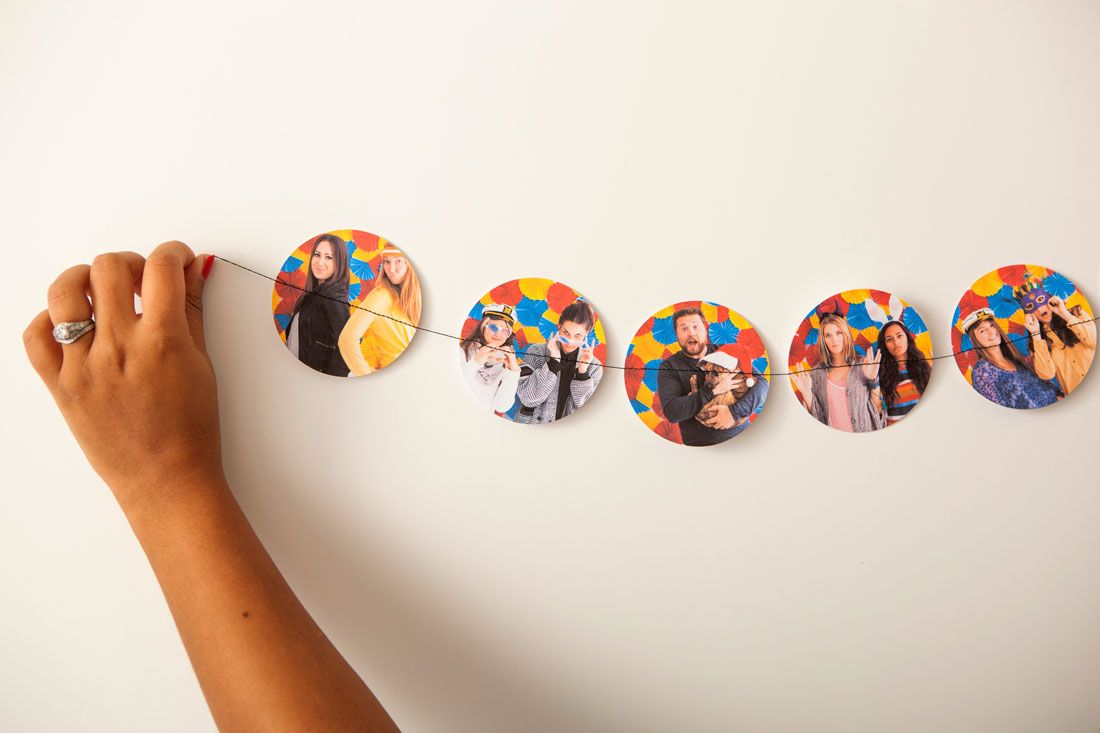3 Ways to Turn Photos into Custom Garlands via Brit + Co.