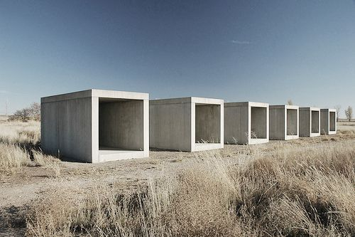 Untitled, works in concrete  Donald Judd  1985  citizendesigner